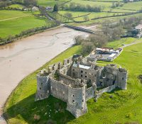 Carew Castle Aerial Pembrokeshire Castles Historic Sites